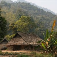 002-Лаос-деревня-в-горах