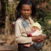 007-Лаос-деревня-в-горах