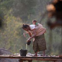 008-Лаос-деревня-в-горах