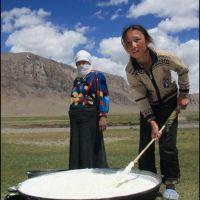 057-на-стойбище-пастухов-киргизов-Восточный-Памир-август-2009